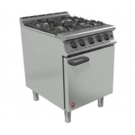 Falcon Dominator Plus G3161 Four Burner Oven Range